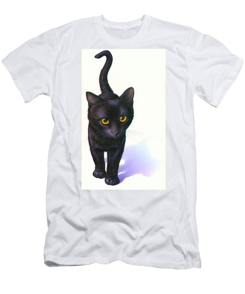 Lucky Cat Men's T-Shirt (Athletic Fit)