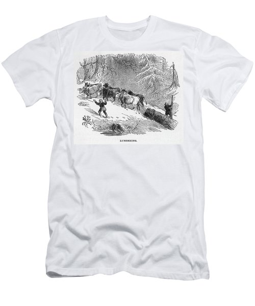Lumbering - 1878 Men's T-Shirt (Athletic Fit)