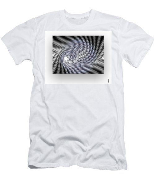 Men's T-Shirt (Athletic Fit) featuring the digital art Lumiere by Mihaela Stancu