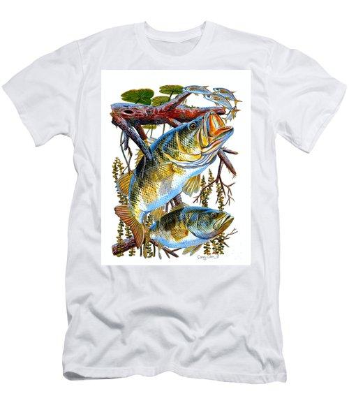 Lurking Bass Men's T-Shirt (Athletic Fit)