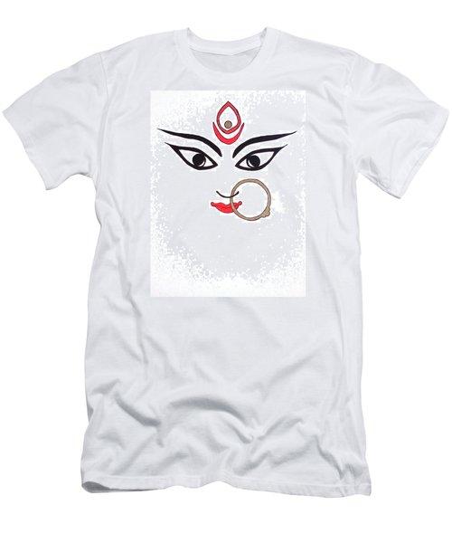 Maa Kali Men's T-Shirt (Slim Fit) by Kruti Shah