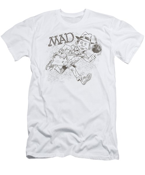 Mad - Sketch Men's T-Shirt (Athletic Fit)