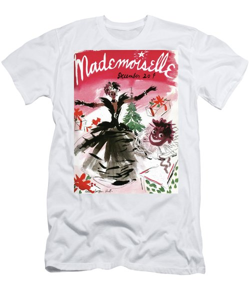 Mademoiselle Cover Featuring A Doll Surrounded Men's T-Shirt (Athletic Fit)
