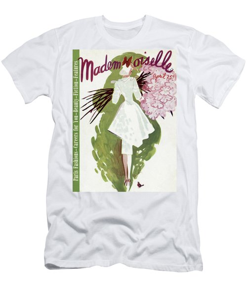 Mademoiselle Cover Featuring A Woman Carrying Men's T-Shirt (Athletic Fit)