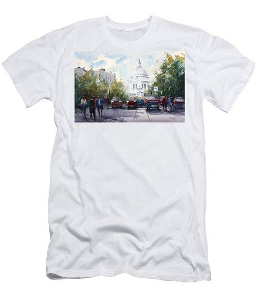 Madison - Capitol Men's T-Shirt (Athletic Fit)