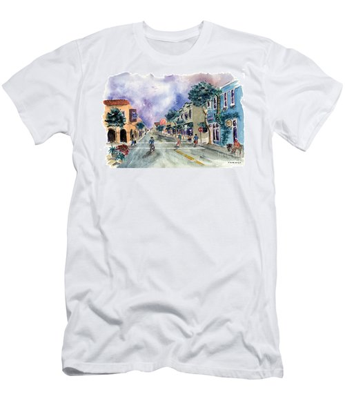 Main Street Half Moon Bay Men's T-Shirt (Athletic Fit)