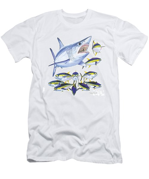 Mako Attack Men's T-Shirt (Athletic Fit)