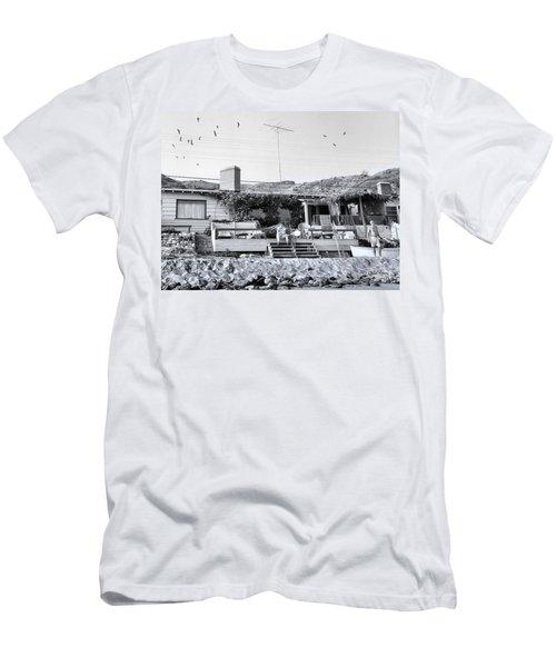 Malibu Beach House - 1960 Men's T-Shirt (Athletic Fit)