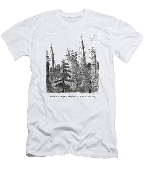 Manhattan Woods Men's T-Shirt (Athletic Fit)