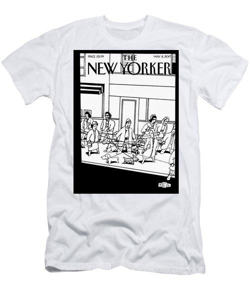 Man's Best Friend Men's T-Shirt (Athletic Fit)