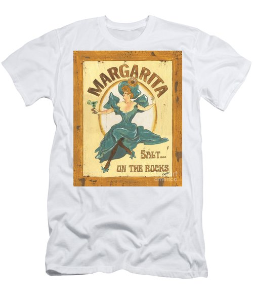 Margarita Salt On The Rocks Men's T-Shirt (Athletic Fit)