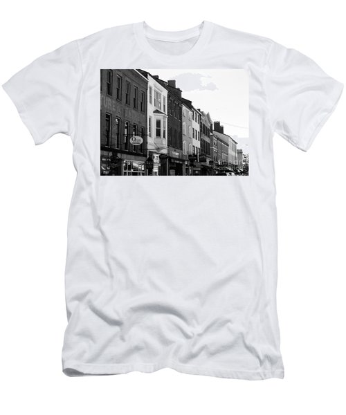 Market Street Men's T-Shirt (Slim Fit) by Kevin Fortier