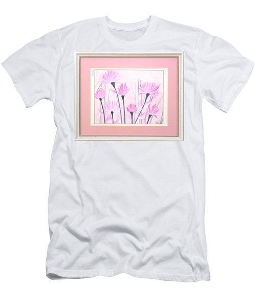 Marsh Flowers Men's T-Shirt (Athletic Fit)