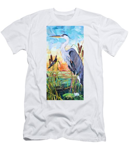 Marshland Moring Men's T-Shirt (Athletic Fit)