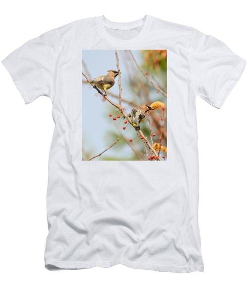Masked Duo Men's T-Shirt (Slim Fit) by Kerri Farley