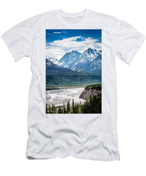 Matanuska River  Men's T-Shirt (Athletic Fit)