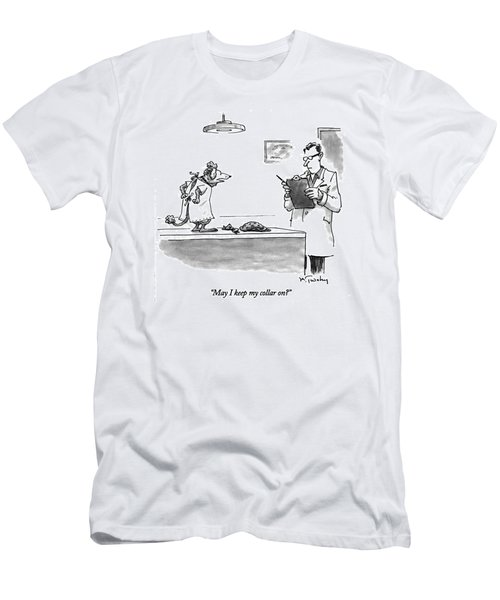 May I Keep My Collar On? Men's T-Shirt (Athletic Fit)