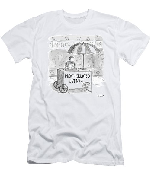 Meat-related Events Men's T-Shirt (Athletic Fit)