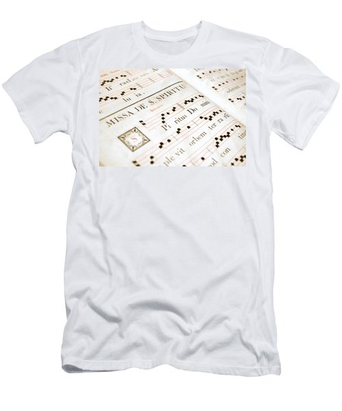 Mediavel Chorus Book  Men's T-Shirt (Athletic Fit)