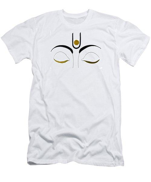 Meditation Men's T-Shirt (Slim Fit) by Kruti Shah