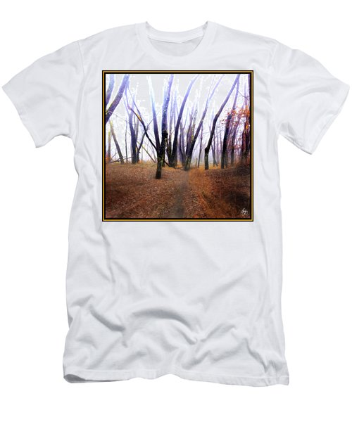 Men's T-Shirt (Athletic Fit) featuring the photograph Meditation On Fear by Wayne King