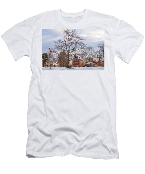 Meetinghouse Hill Men's T-Shirt (Athletic Fit)
