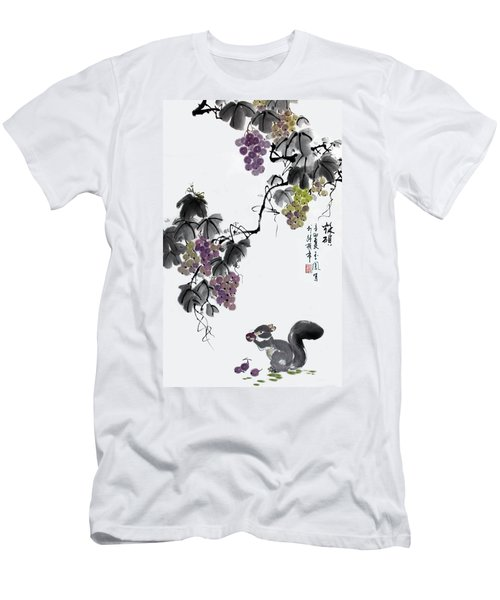 Melody Of Life II Men's T-Shirt (Slim Fit) by Yufeng Wang