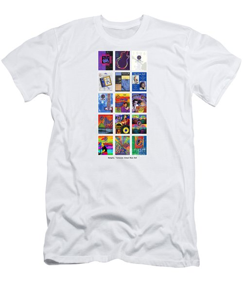 Posters Of Music Men's T-Shirt (Athletic Fit)