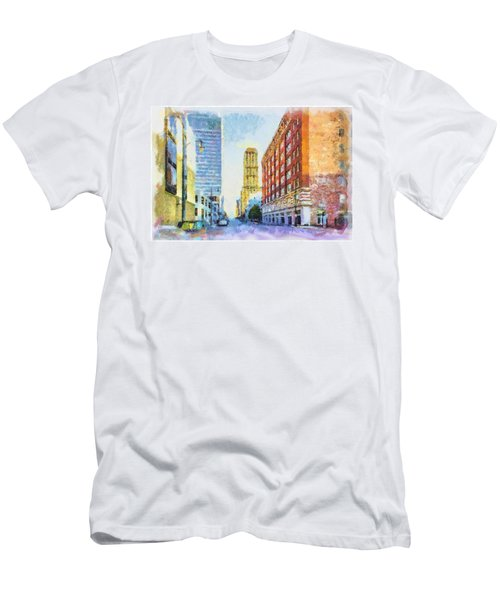 Memphis City Street Men's T-Shirt (Athletic Fit)