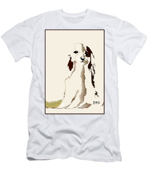 Mercedes  - Our Cavalier King Charles Spaniel  No. 9 Men's T-Shirt (Athletic Fit)