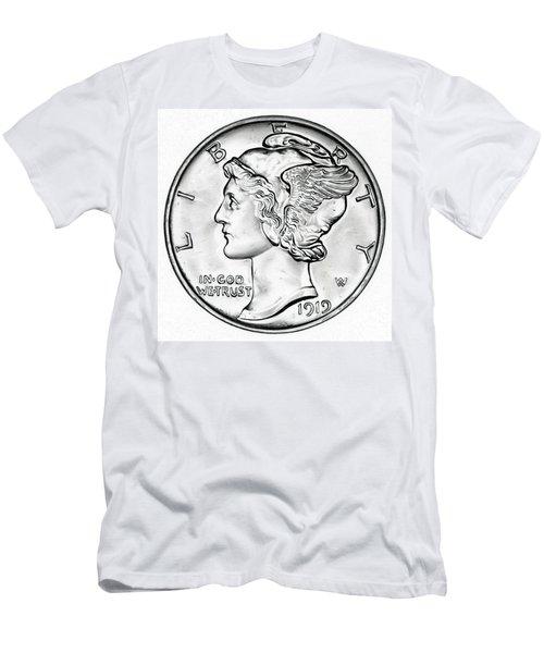Mercury Men's T-Shirt (Slim Fit) by Fred Larucci