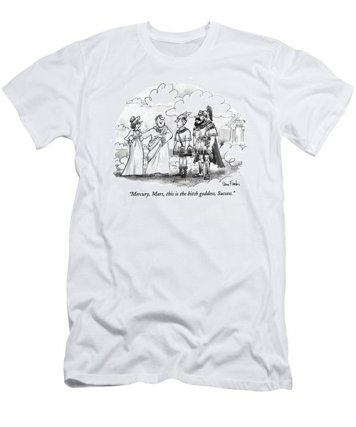 Mercury, Mars, This Is The Bitch Goddess, Success Men's T-Shirt (Athletic Fit)