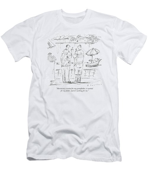 Meritocracy Worked For My Grandfather Men's T-Shirt (Athletic Fit)