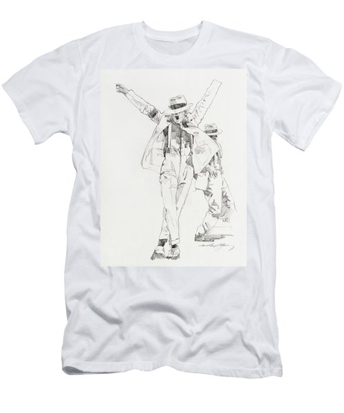 Michael Smooth Criminal Men's T-Shirt (Athletic Fit)