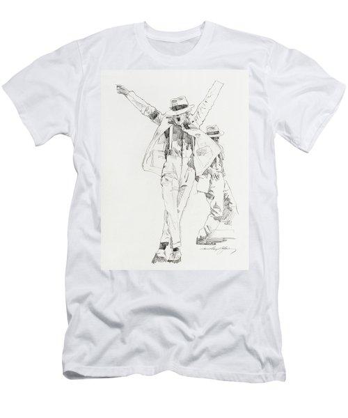 Michael Smooth Criminal Men's T-Shirt (Athletic Fit)