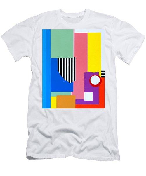 Mid Century Compromise Men's T-Shirt (Slim Fit) by Thomas Gronowski
