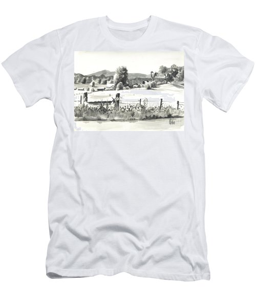 Midsummer View Out Route Jj   No I101 Men's T-Shirt (Athletic Fit)