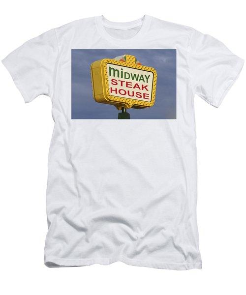 Midway Seaside Heights Boardwalk Nj Men's T-Shirt (Athletic Fit)