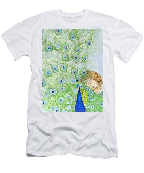Mika And Peacock Men's T-Shirt (Athletic Fit)