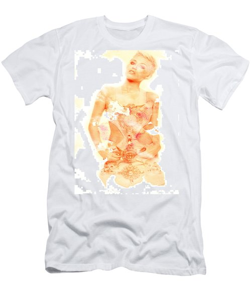 Men's T-Shirt (Slim Fit) featuring the digital art Miley by Brian Reaves