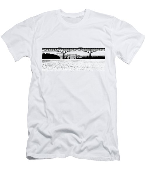 Millard Tydings Memorial Bridge Men's T-Shirt (Athletic Fit)