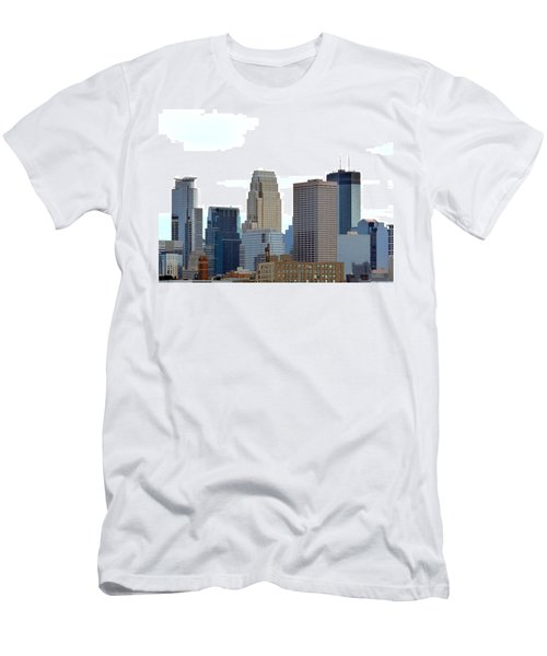 Men's T-Shirt (Athletic Fit) featuring the photograph Minneapolis by Will Borden