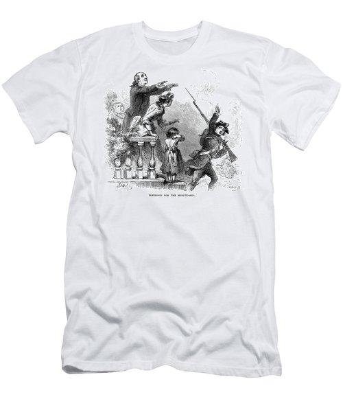 Minuteman: Blessing, 1776 Men's T-Shirt (Athletic Fit)