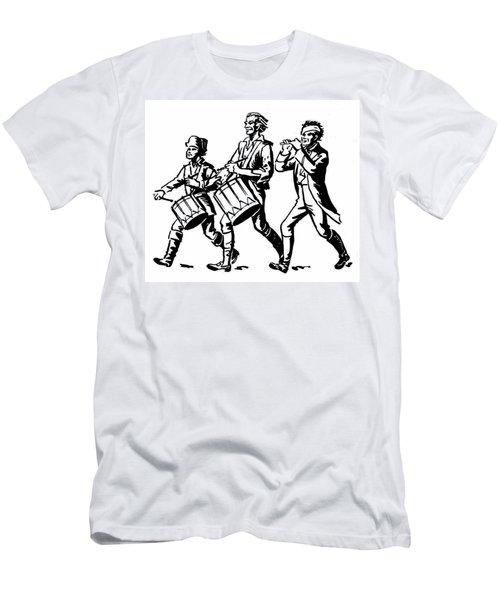 Minutemen: Spirit Of 1776 Men's T-Shirt (Athletic Fit)