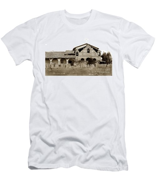 Mission San Antonio De Padua California Circa 1885 Men's T-Shirt (Athletic Fit)