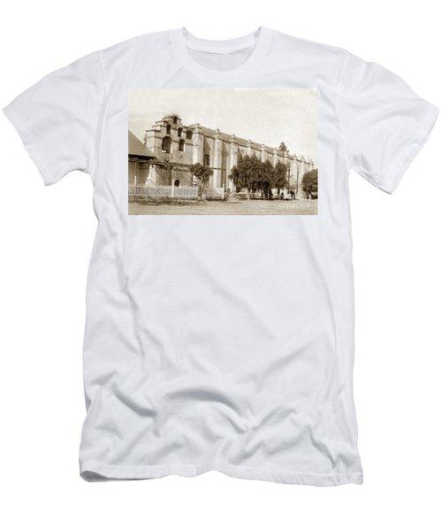Mission San Gabriel Arcangel California Circa 1895 Men's T-Shirt (Athletic Fit)