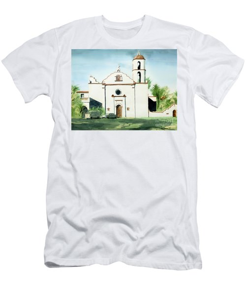 Mission San Luis Rey Colorful II Men's T-Shirt (Athletic Fit)