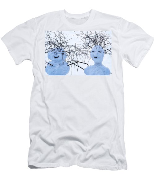 Mister And Missis Snowball - Featured 3 Men's T-Shirt (Athletic Fit)