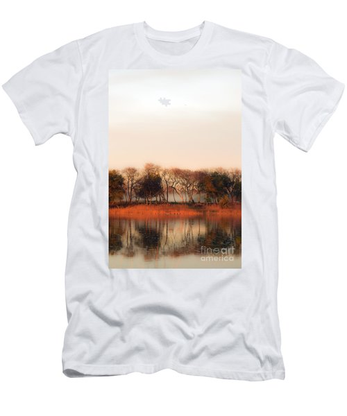 Misty Winter's Morning Men's T-Shirt (Athletic Fit)