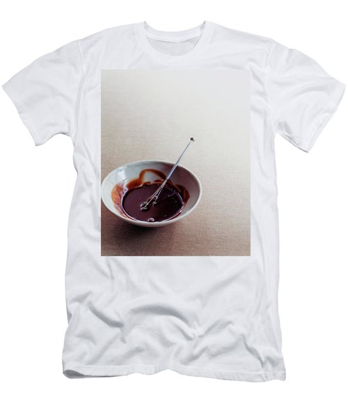 Mocha Caramel Sauce Men's T-Shirt (Athletic Fit)